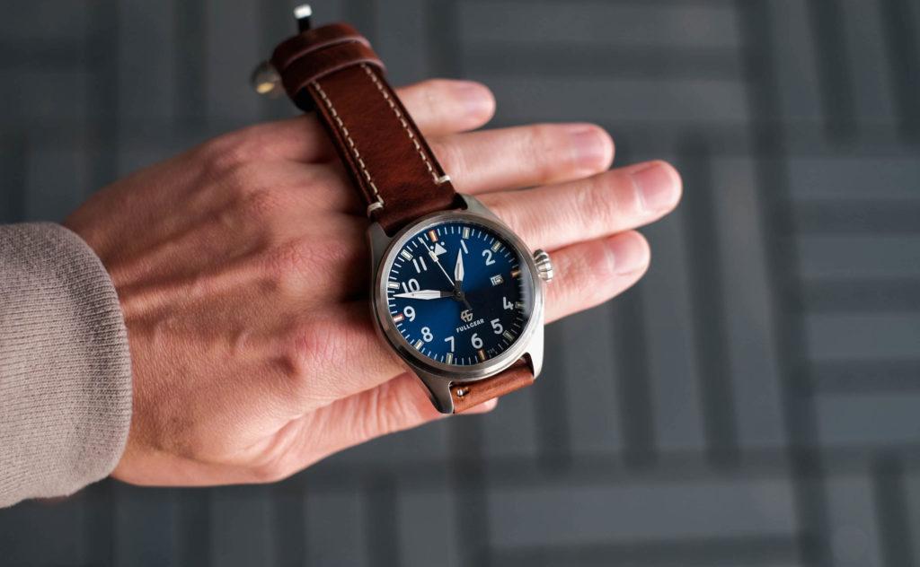FullGear Pioneer Customizable Tritium Watch Review