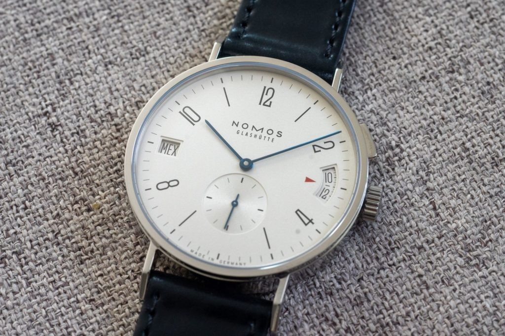 Nomos Glashütte Tangomat GMT Watch Review