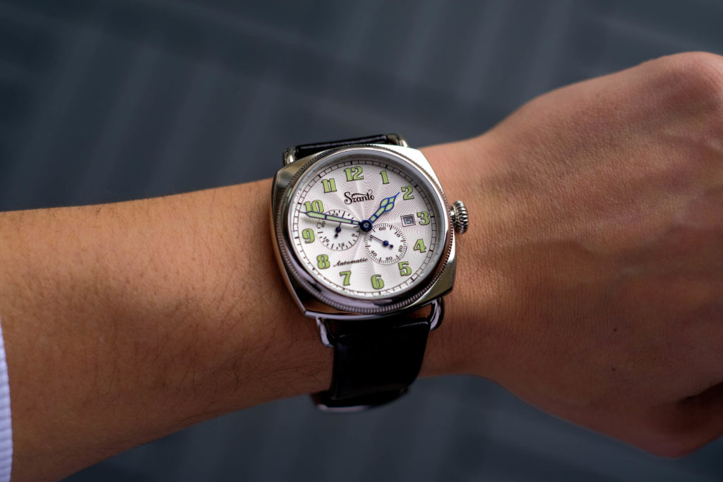Szanto 6200 Series Officer's Coin Cushion Watch Review