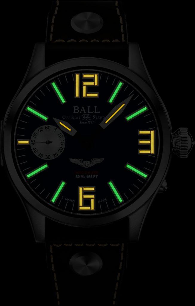 Illuminated dial