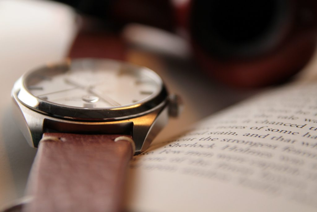 Lugs and case of the watch