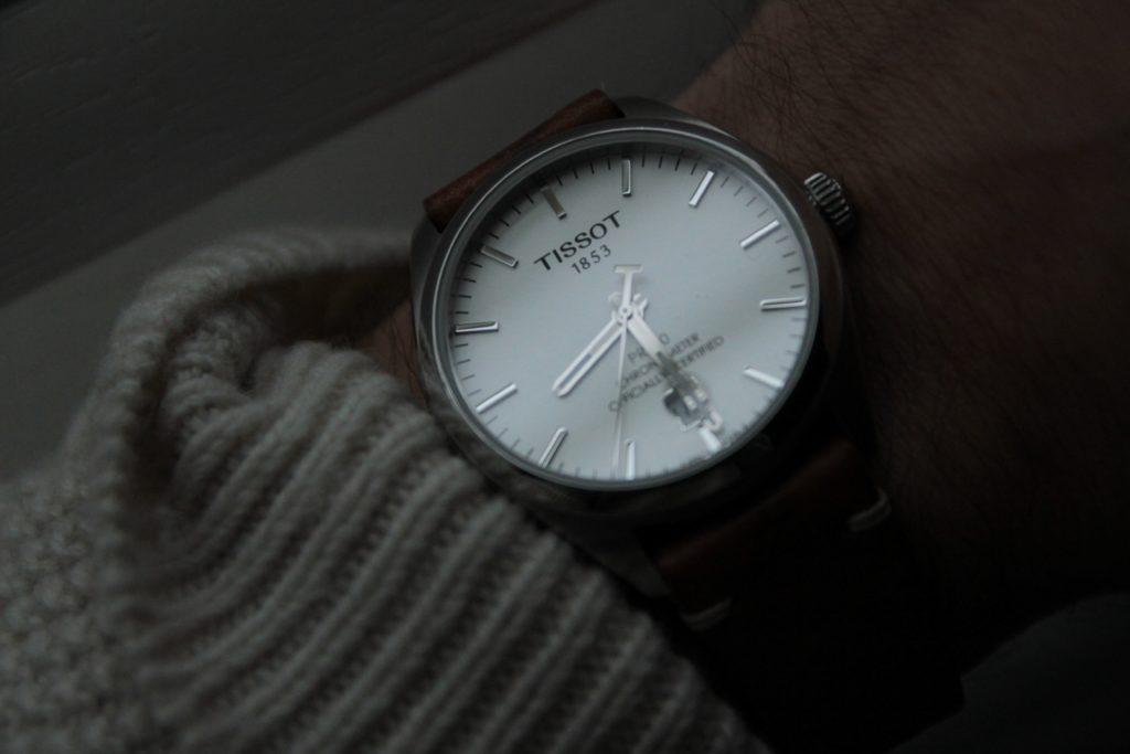 PR100 on wrist