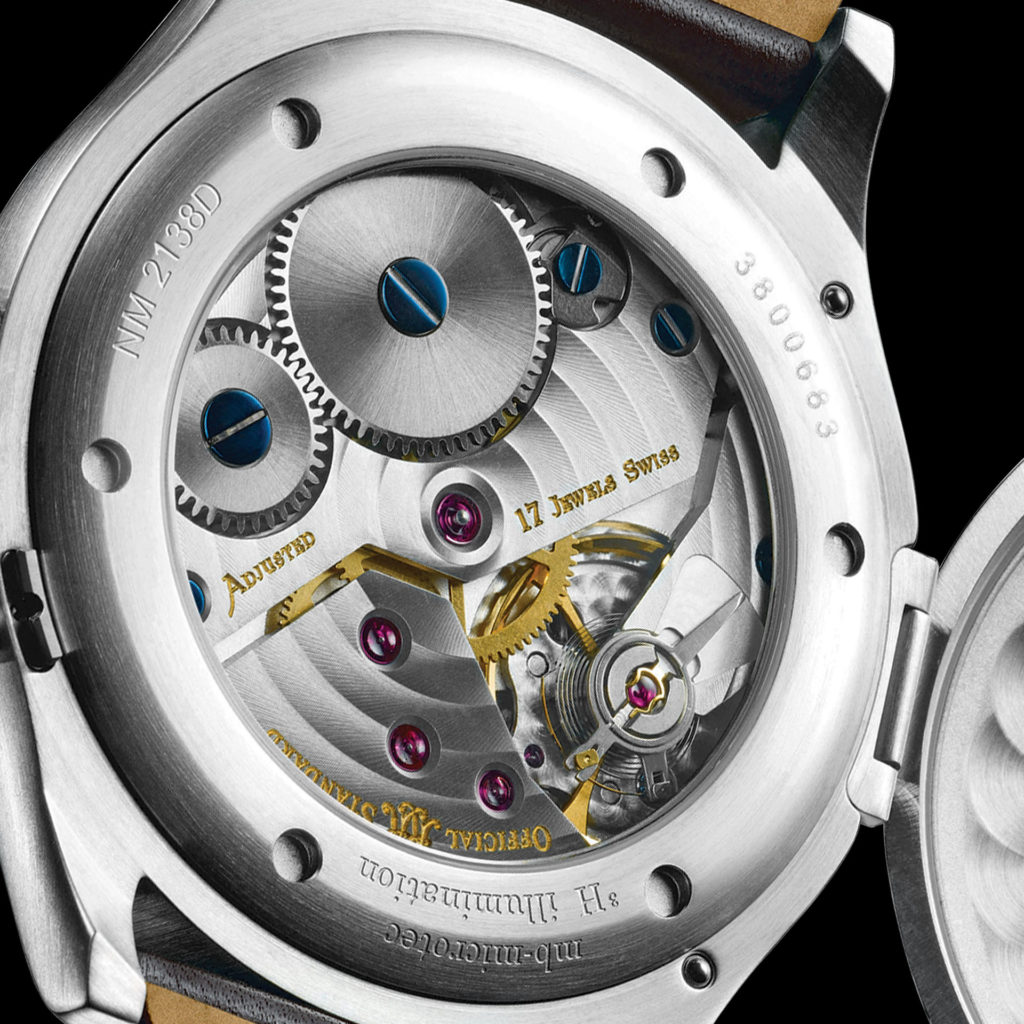 Caseback with movement