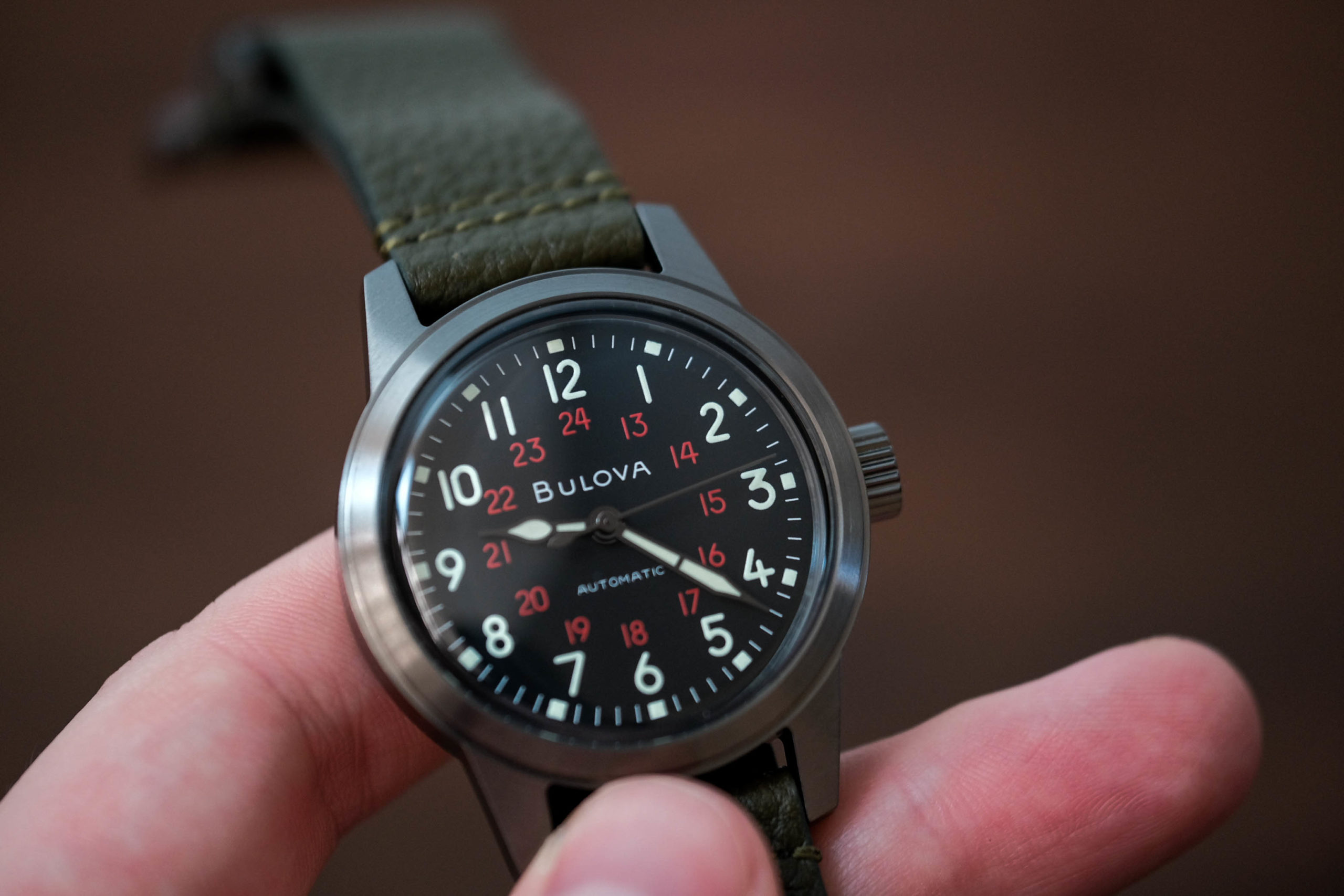 Bulova Hack Watch Archive Series Review
