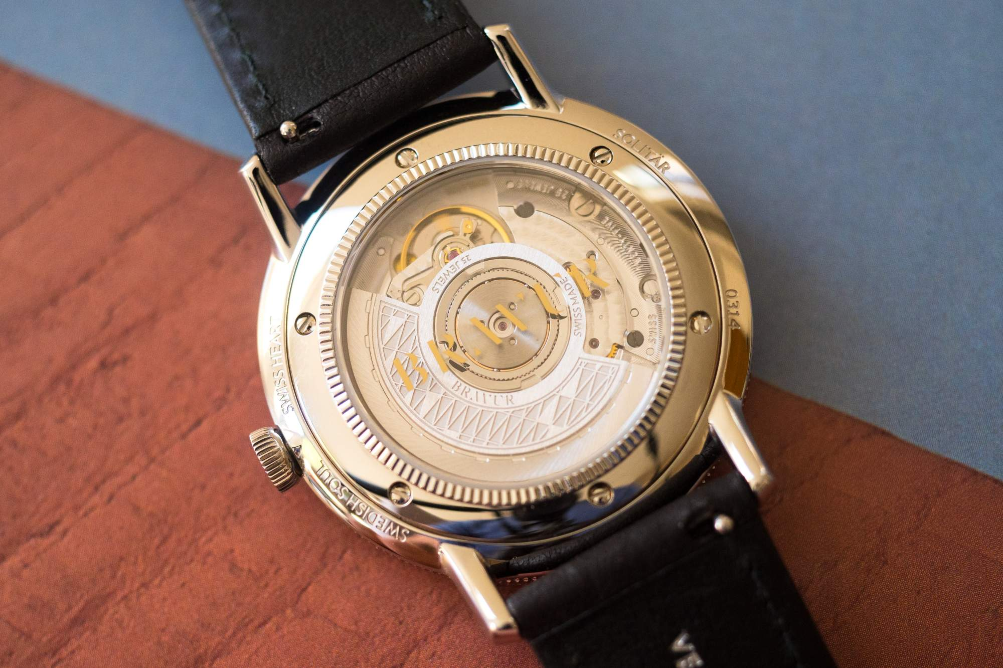 Caseback different angle