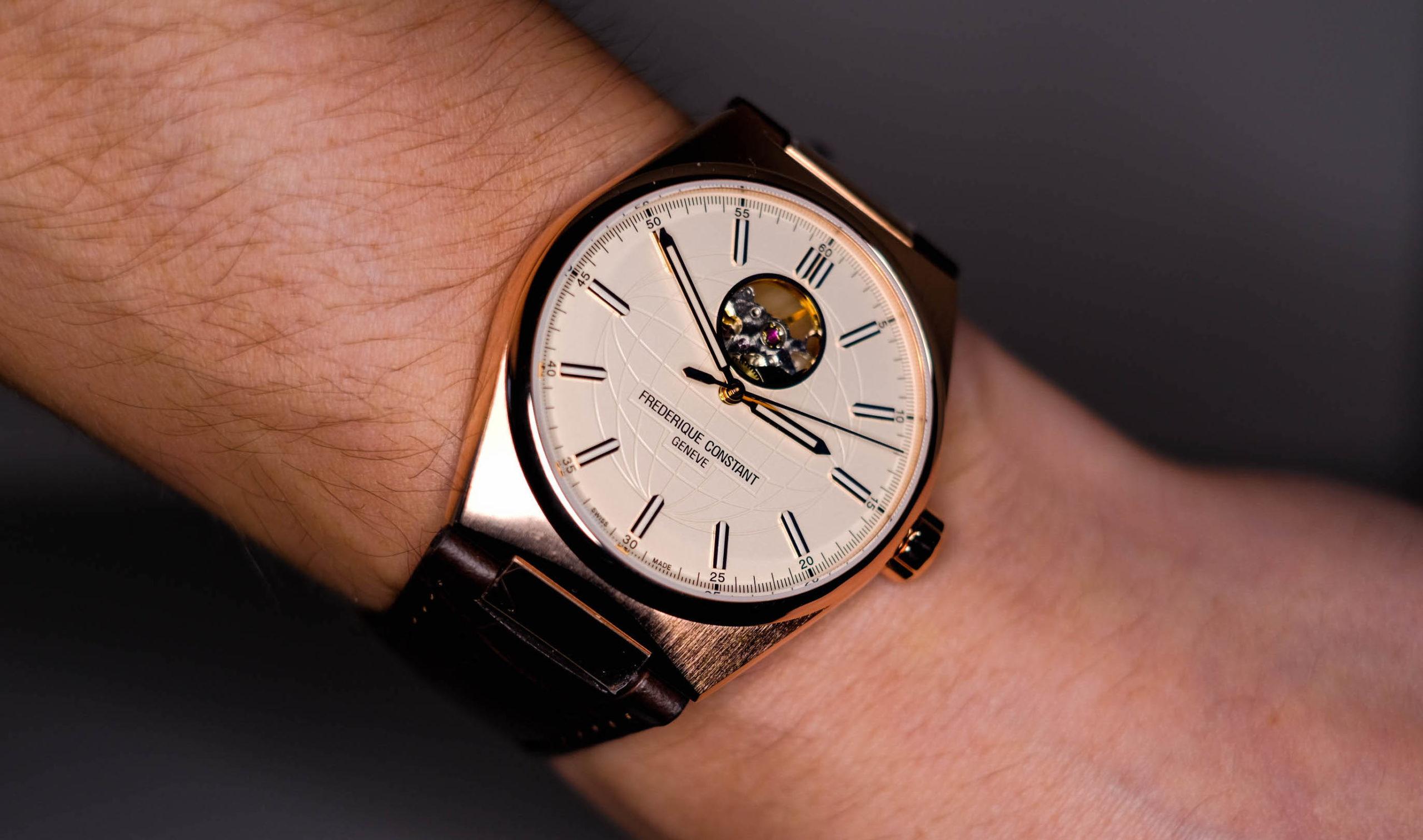 Wrist shot of Frederique Constant Highlife
