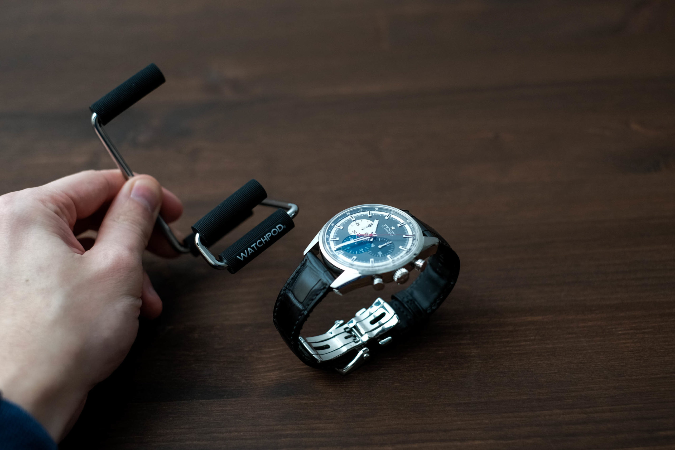 WATCHPOD Display Stand With the El Primero