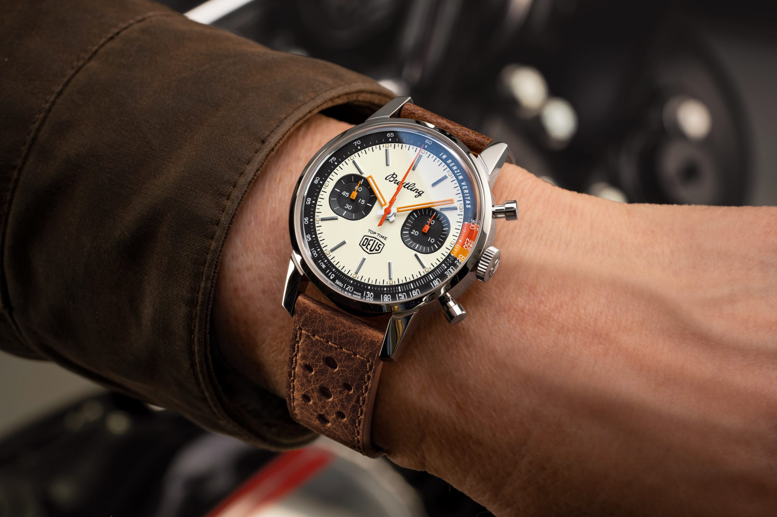 Introducing the Breitling Top Time Deus Limited Edition