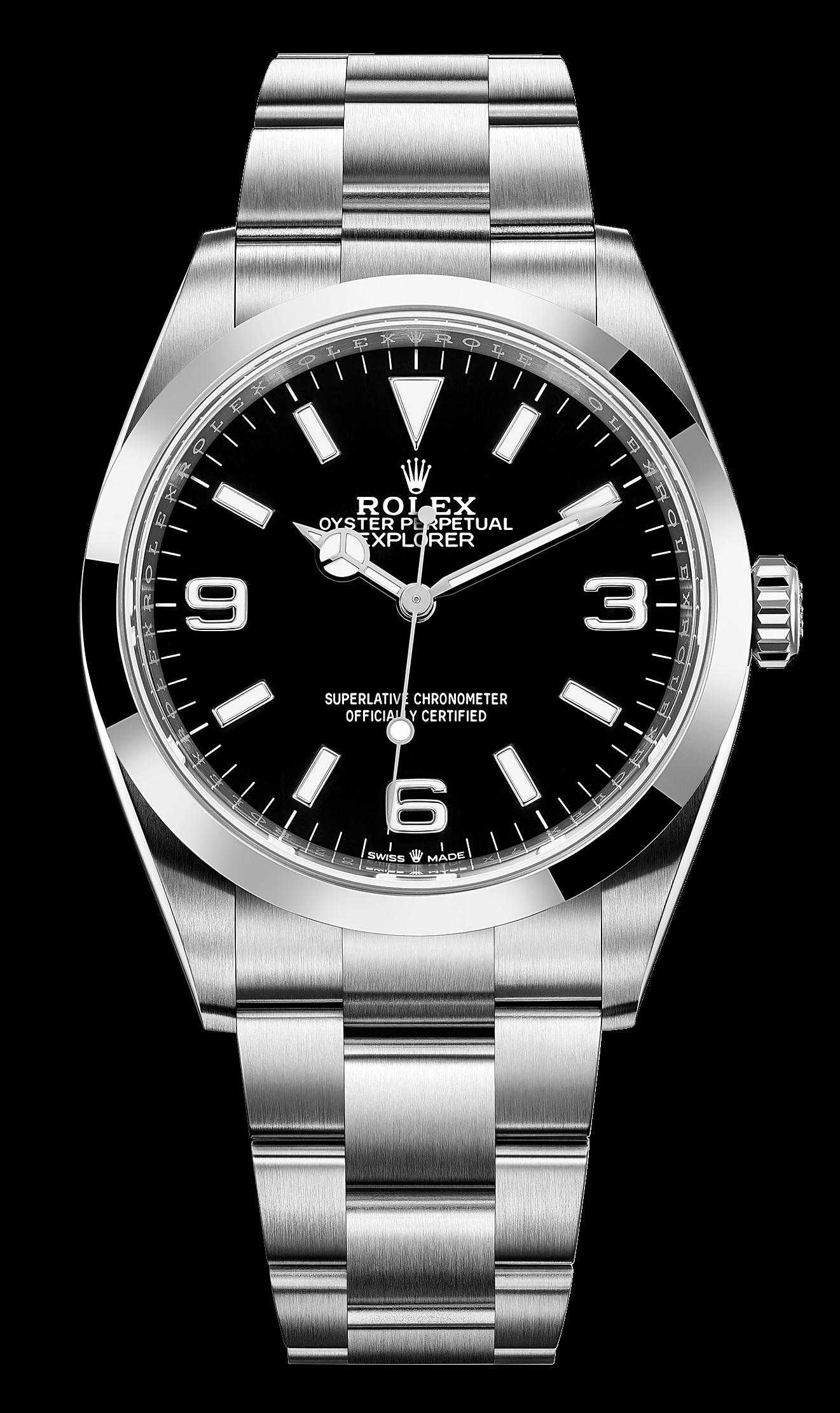 Rolex Explorer 1 124270 Dial