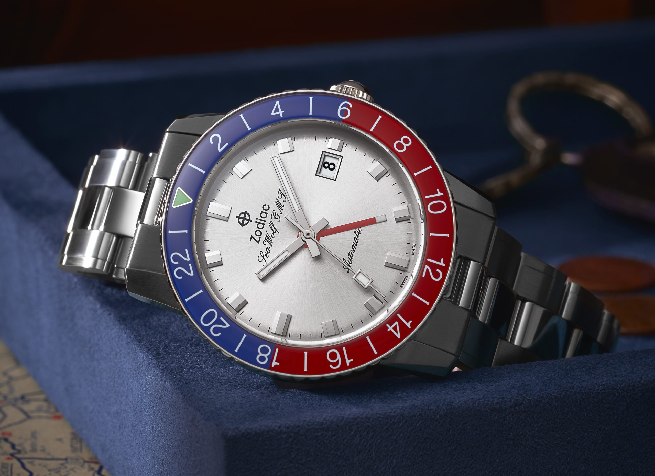 Introducing the Zodiac Sea Wolf GMT Exclusively at Topper Fine Jewelers