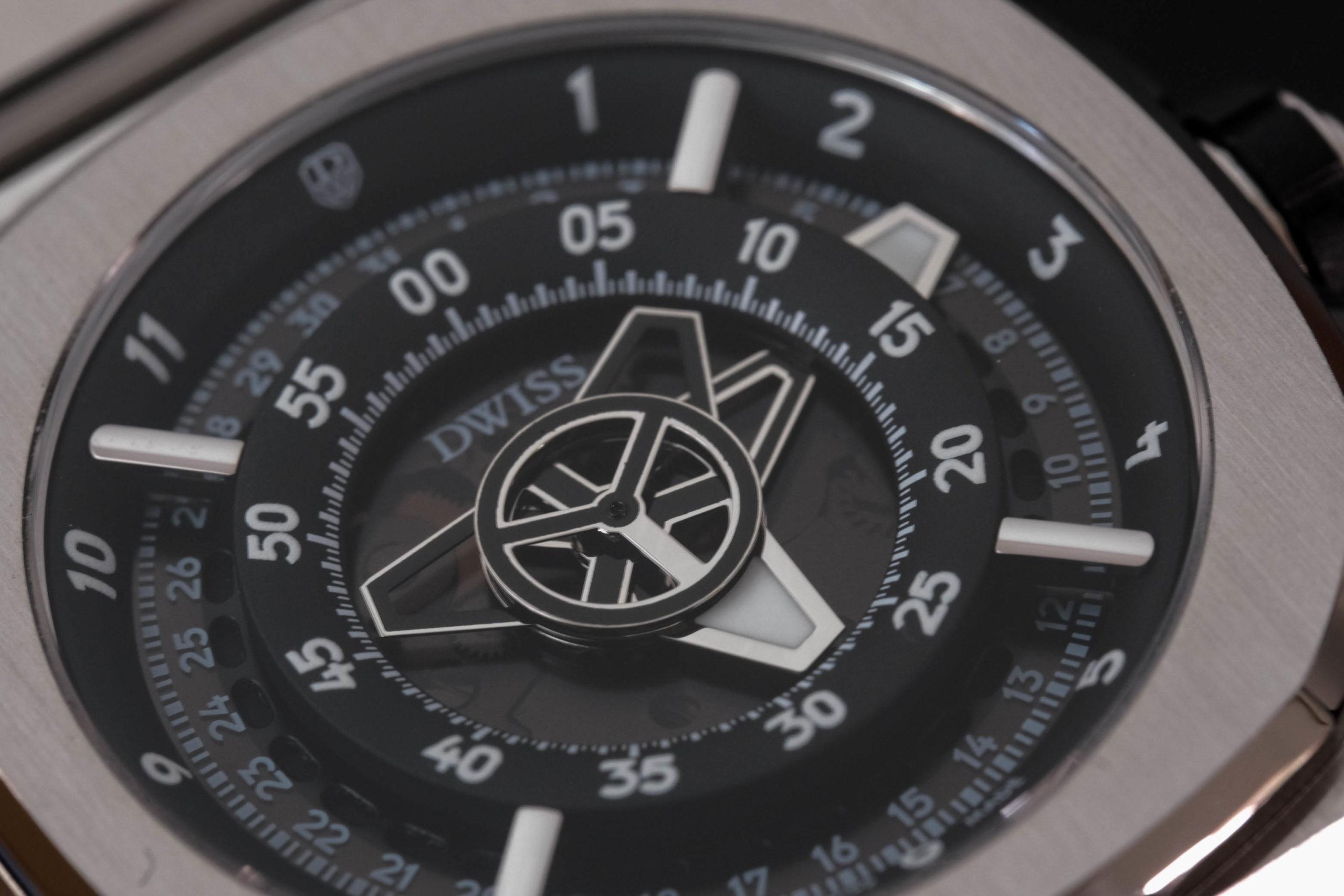 Macro of dial