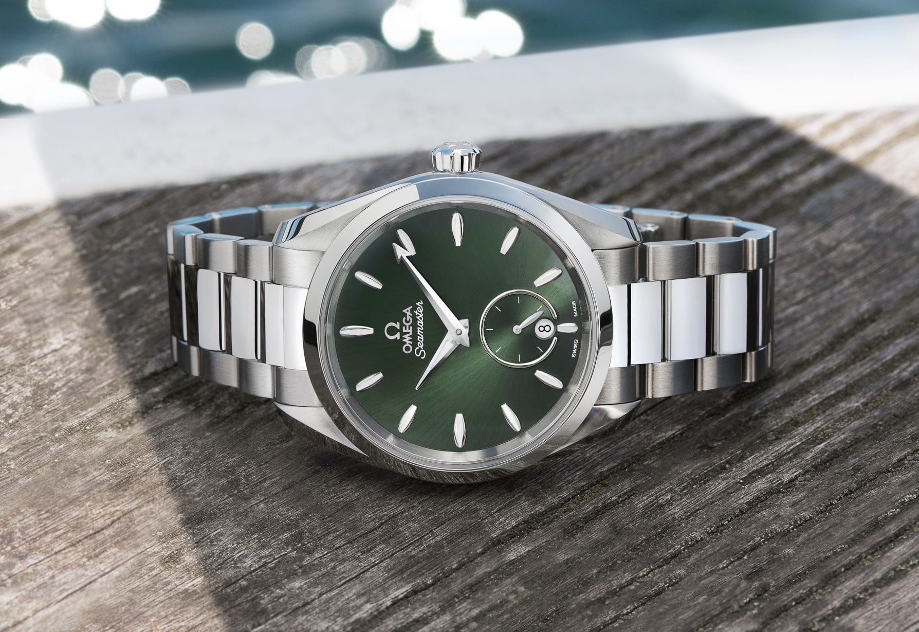 Introducing the OMEGA Seamaster Aqua Terra Small Seconds collection