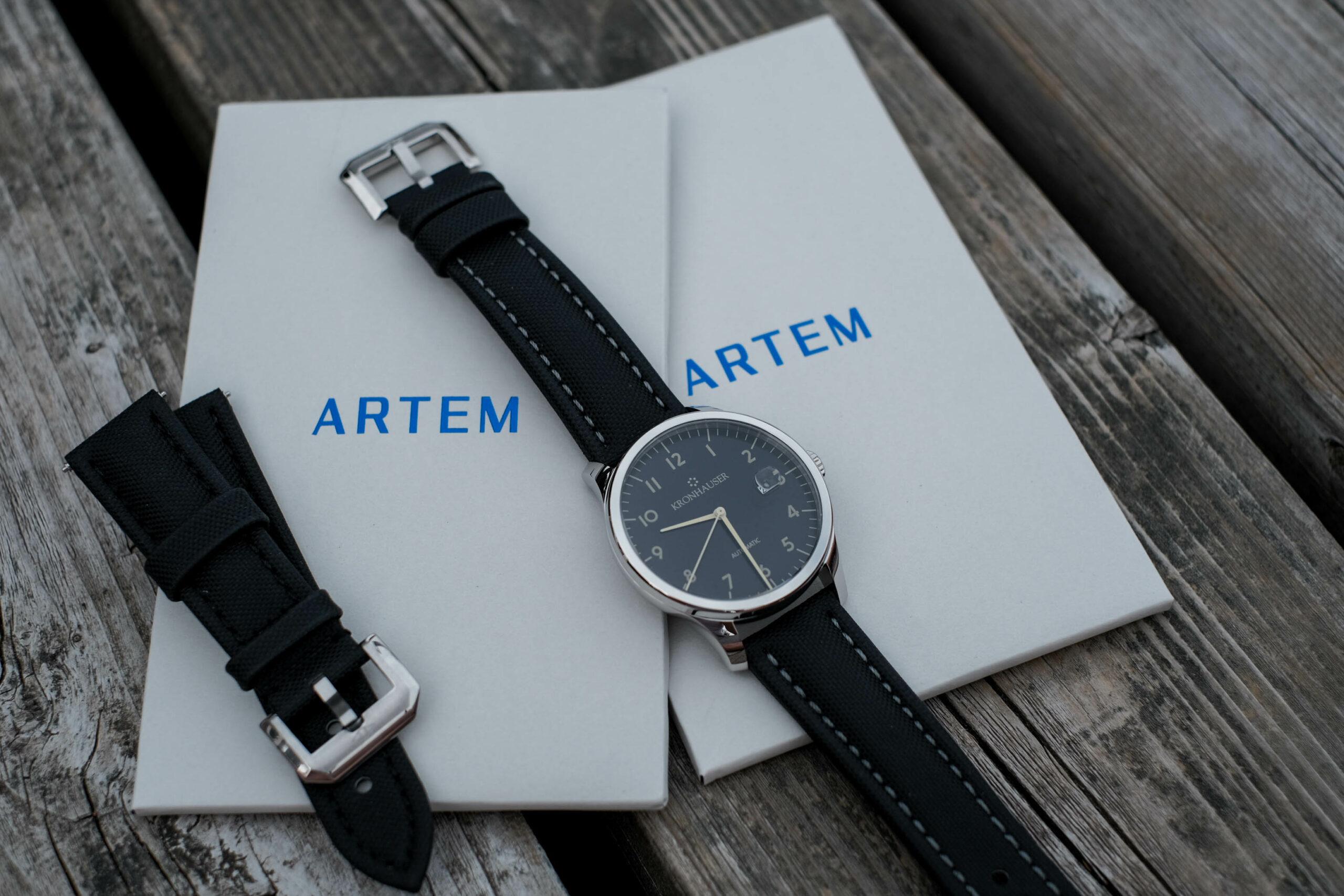 Artem Sailcloth Watch Straps Review