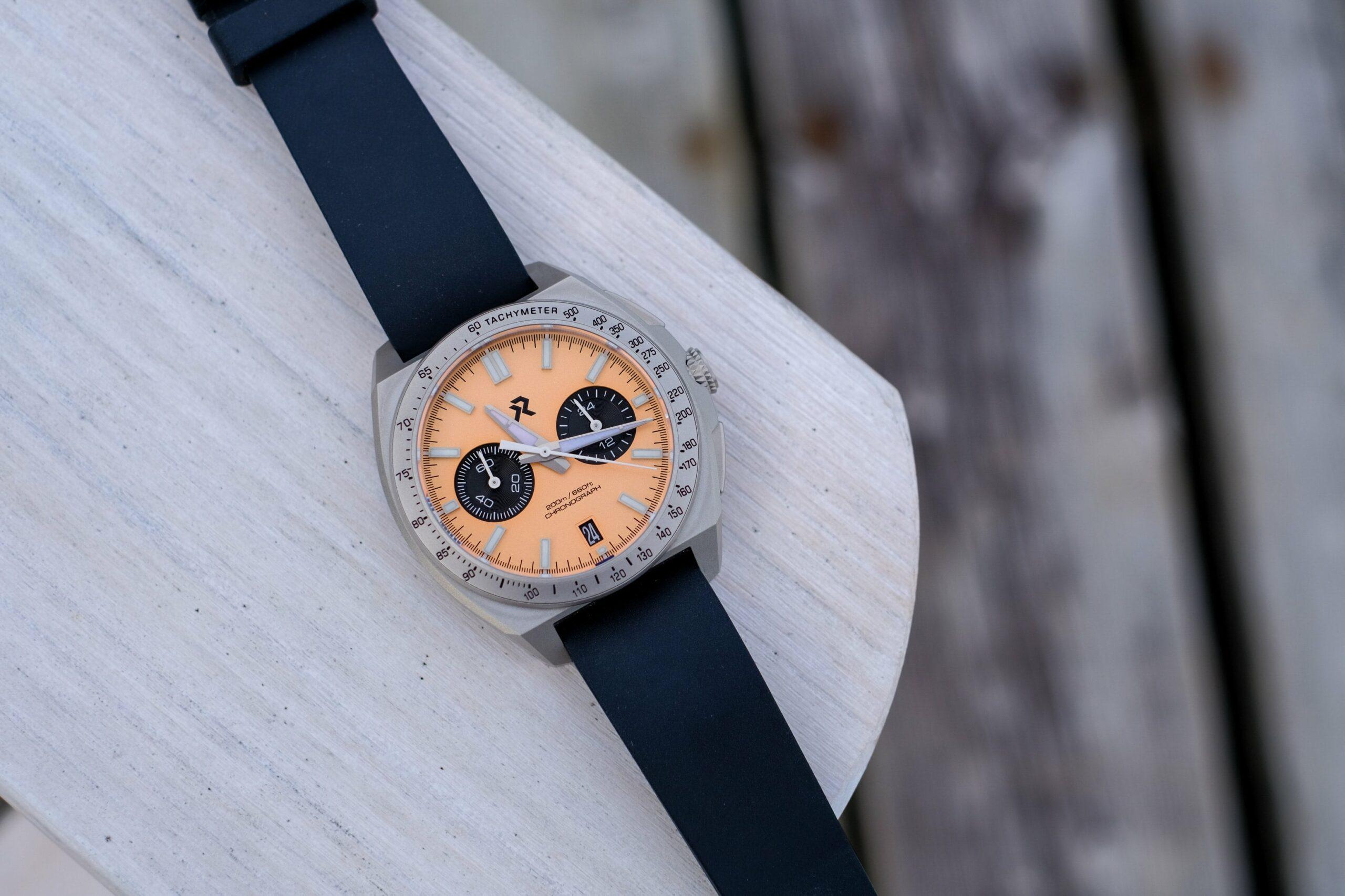 RZE Valour Titanium Meca-Quartz Chronograph Watch Review