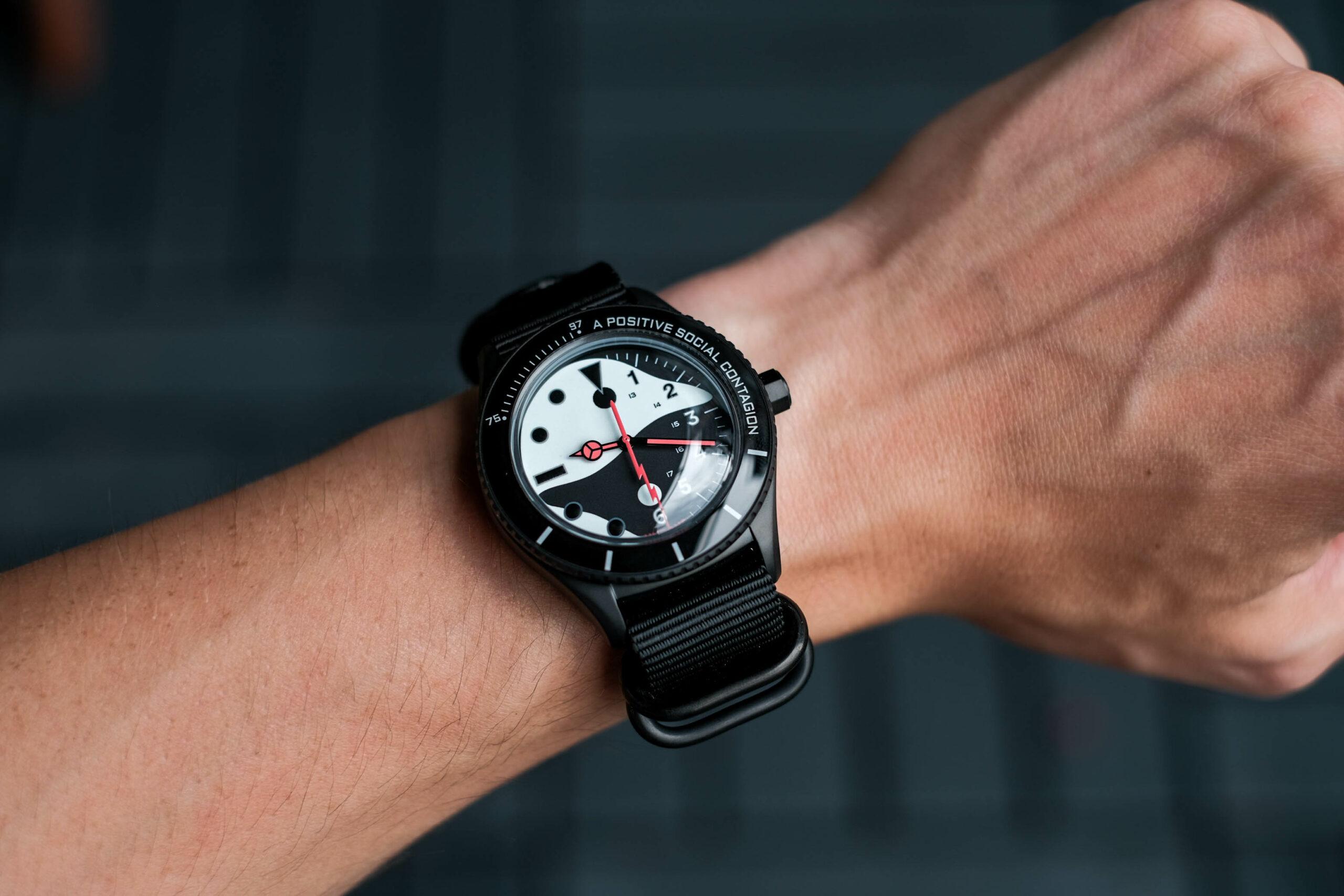 Yin-Yang on wrist