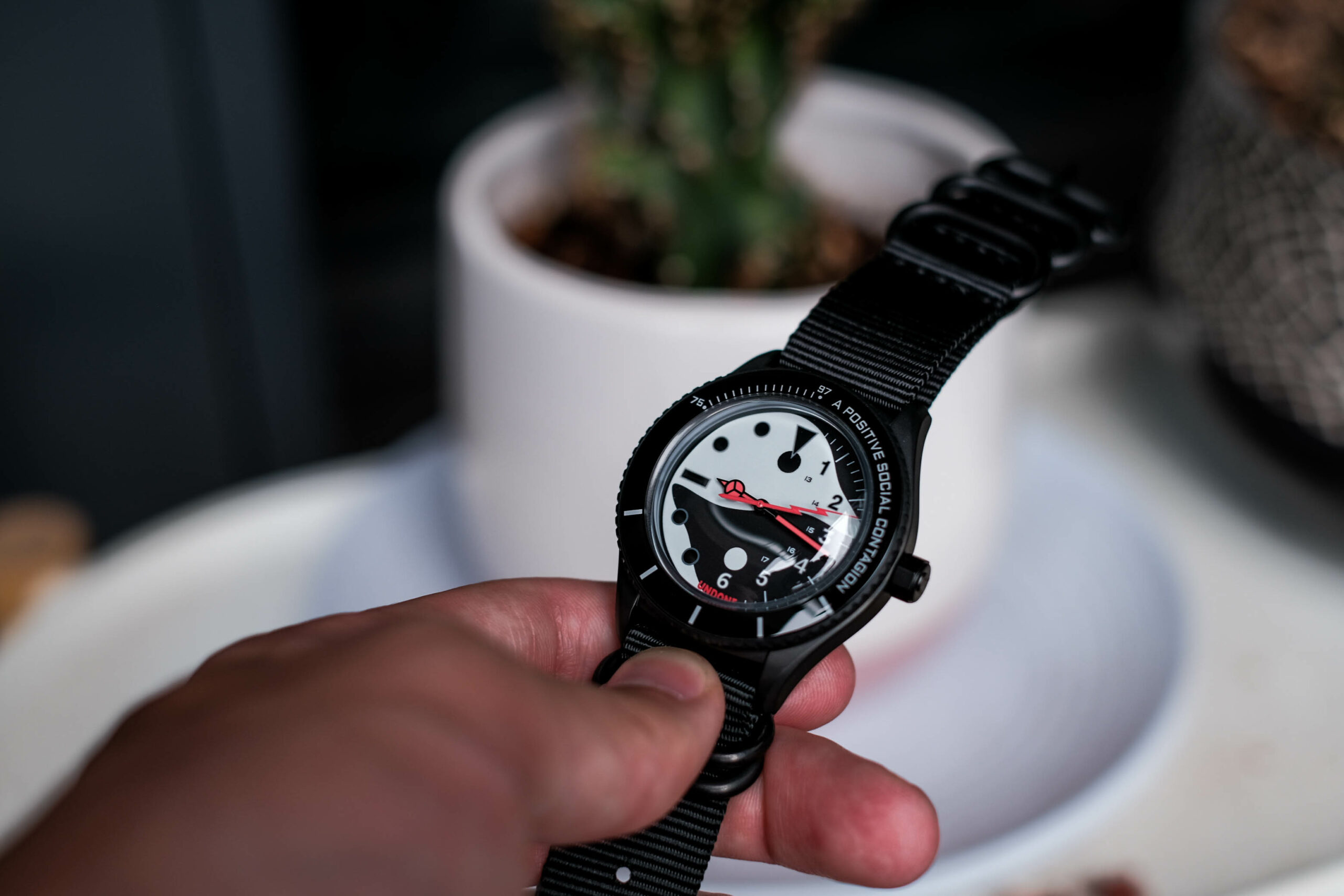 Undone Staple watch dial