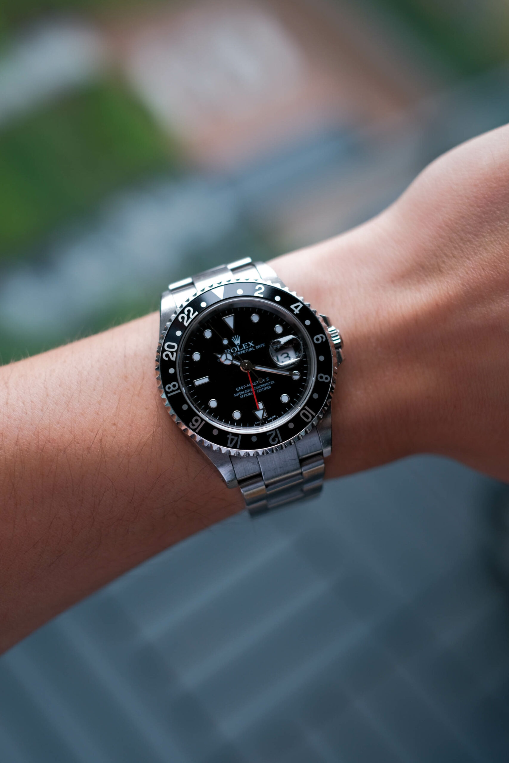 GMT Master 16710 wrist shot