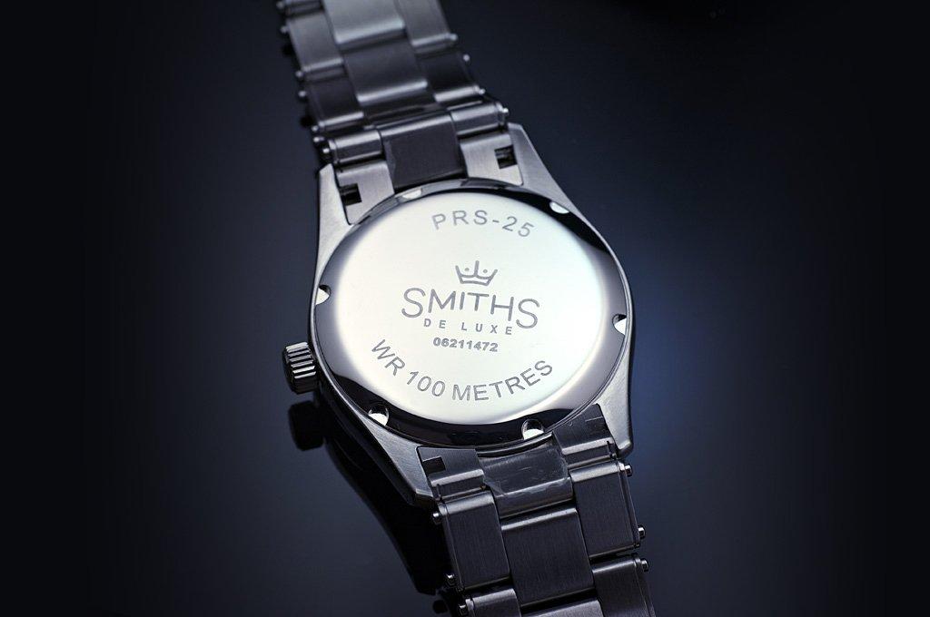 Engraved caseback Smiths