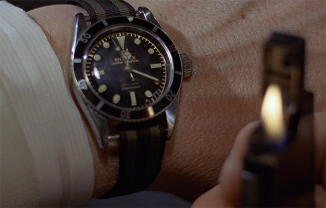 Rolex Submariner Ref. 6538 James Bond